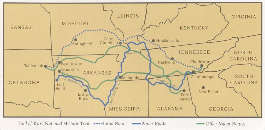 National Historic Trail of Tears National Park Service