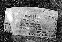 John Bell Tombstone