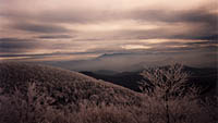 Erwin, Tennessee mountains