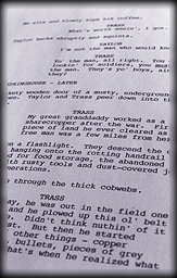 Screenplay Page