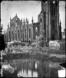 Ruined Charleston Church