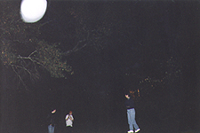 Ghost orb in Athens, GA cemetery