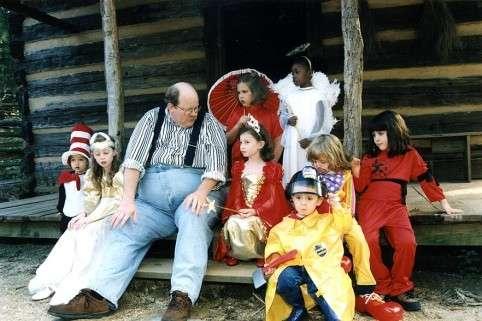 The Moonlit Road.com Storyteller Jim McAmis at Atlanta History Center