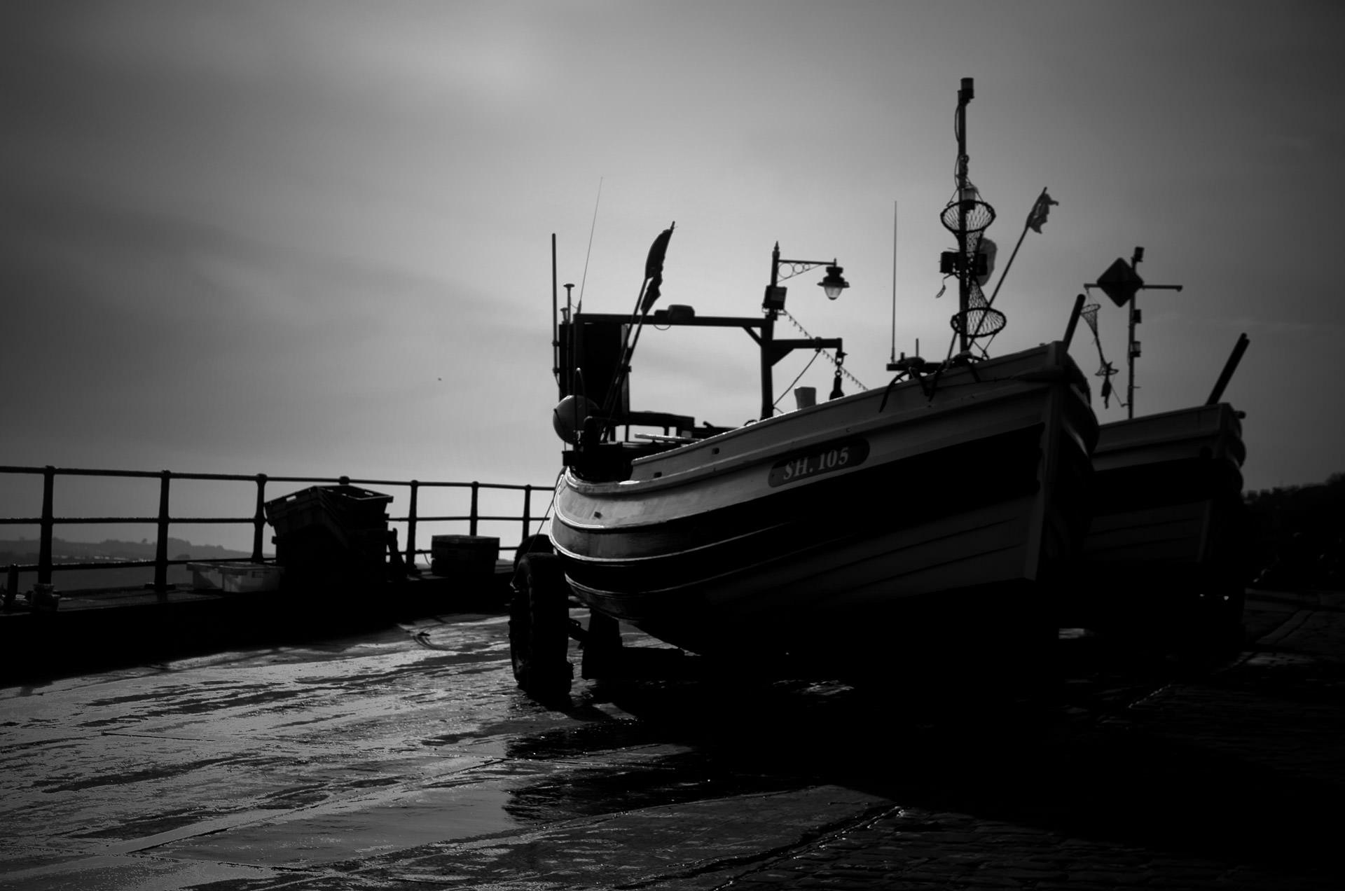 Fishing Boat from Virginia Horror Story The Gunnymen